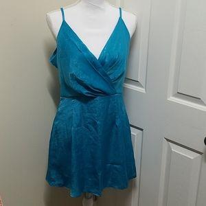 NWT Naked Wardrobe Satin Mini Dress